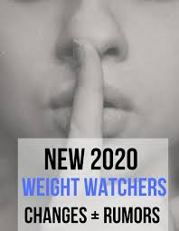 new weight watchers changes 2020