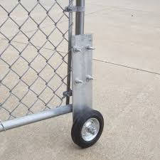 Chain Link Bolt On Cantilever Gate Wheel Helper For 1 5 8 And 2 1 7 8 Od Gate Frames Galvanized Steel Chain Link Fittings