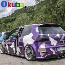 Purple Artic Camo Vinyl Car Sticker Full Car Body Wrap Camouflage Film Decal Foil With Air Bubble Free 1 52 30m Roll On Aliexpr Vinyl Car Stickers Car Camo Car