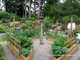 raised beds with lattice for supporting
