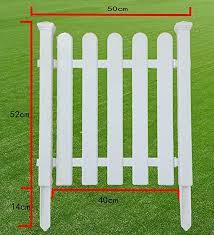 plastic fence garden fence garden