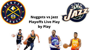 Nuggets vs Jazz Playoffs Game 1 Live ...