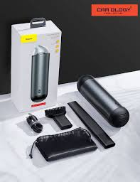 Máy hút bụi cầm tay Mini Baseus Capsule Cordless Vacuum Cleaner (3750 Pa /  65W / 2000mAh) - Carology