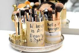 diy makeup brushes holder saubhaya makeup