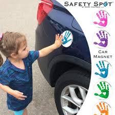 Safety Spot Kids Hand Car Magnet Toddler Child Handprint Etsy