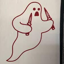 Stab Ghost 6 Vinyl Decal On Storenvy