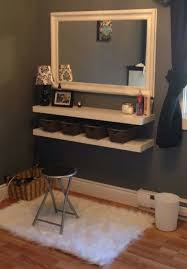 wall mounted vanity home new room