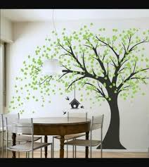 wall tree painting contract painting
