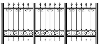 Iron Fence Transparent Clip Art Library