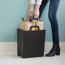 paper bag recycling bin unmon goods