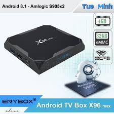 Android TV Box X96 max - BH 2 năm - Amlogic S905x2, Ram 4GB, bộ ...