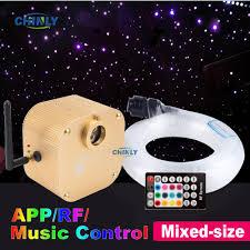 Best Sale Efa11a Fiber Optic Light 16w Twinkle Bluetooth App Smart Control Starry Music Control Car Star Led Light Kid Room Ceiling Lighting Cicig Co