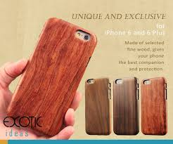 Handmade Solid Wooden Cases Skins For Iphone 7 7 Plus 6 6s 6 6s Plus Exotic Ideas