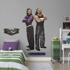 Fathead Hardy Boyz Life Size Officially Licensed Wwe Removable Wall Decal Walmart Com Walmart Com