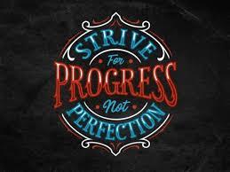 Strive For Progress Not Perfection Buy T Shirt Design Artwork Buy T Shirt Designs