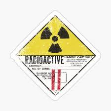 Radioactive Stickers Redbubble