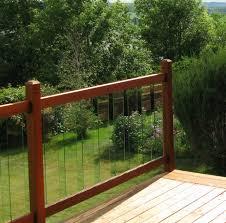 Vista Railing 6 Ft Clearview Level Deck Rail Kit Wayfair In 2020 Deck Railing Design Garden Fence Panels Outdoor Deck