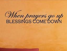 When Prayers Go Up Blessings Come Down Wall Decor Stickers Contemporary Wall Decals By Vinylsay Llc