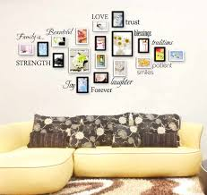 family quotes wall sticker for photo words love blessing smile
