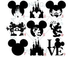 Mickey Mouse Decal Etsy