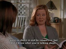 I am pretty sure this is how @Abigail Marshall feels most days when it  comes to me. | Gilmore girls, Gilmore girls quotes, Glimore girls