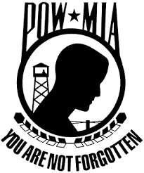 Pow Mia Not Forgotten Closed Car Or Truck Window Decal Sticker Rad Dezigns