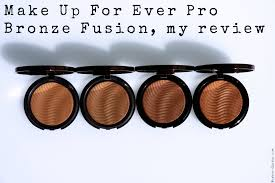 make up for ever pro bronze fusion my