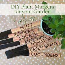 easy and diy plant markers for