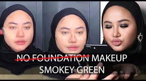 foundation makeup smokey green by nsu