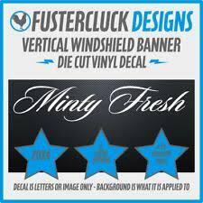 Minty Fresh Polo Mint Sweet Car Van Stickers Decal Bumper Sticker Archives Midweek Com