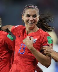 Alex Morgan's tea cup World Cup goal pose causes Brits to freak out - ABC  News