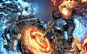 ghost rider wallpaper fight ghost