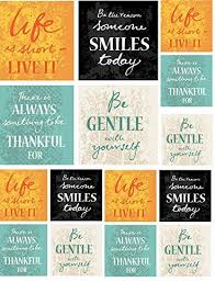 Amazon Com 4 Inspirational Sayings 52155 Ceramic Decal Enamel Decal Glass Decal Waterslide Decal 3 Different Size Sheet Images To Choose From Choose Either Ceramic Enamel Or Glass Fusing Decals Arts Crafts Sewing