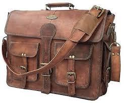 handmade leather briefcase best laptop