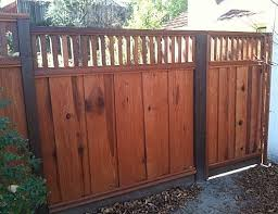 Redwood Fencing Style Choices From A And J Fencing