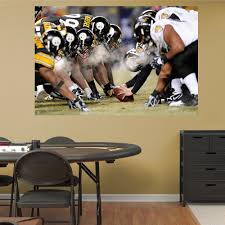Shop Fathead Steelers Ravens Mural Wall Decals Overstock 9388205