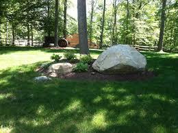 large rocks garden landscaping large