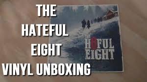 Unboxing Quentin Tarantino's The Hateful Eight Vinyl Record LP Soundtrack -  AMAZON PRIME EXCLUSIVE - YouTube
