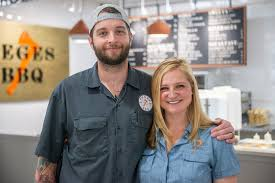 2019 Houston Rising Stars Community Pitmaster Patrick Feges and Chef Erin  Smith of Feges BBQ   StarChefs.com