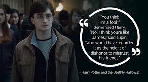 friendship day here are quotes from harry potter and friends