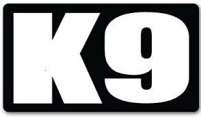 Amazon Com Indigos Ug Sticker Decal Jdm Die Cut K9 K 9 Unit Police Guard Dog Car Bumper Sticker 127mm X76mm Automotive