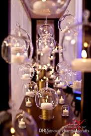 8cm hanging glass candles glass ball