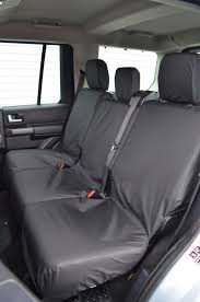 2nd row 3 single rear seats seat covers