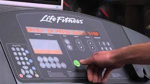 life fitness treadmill tutorial you