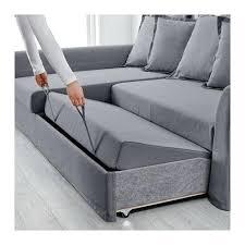ikea grey sofa bed corner with storage