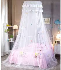 Amazon Com Poppap Bed Canopy Dream Tent For Kids Girls Bed Canopies Bedroom Decor Little Princess Home Kitchen