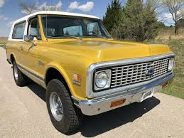 1972 Chevrolet Blazer K5, 4x4, Cheyenne, 59k miles, Yellow, Clean Texas  Survivor for sale: photos, technical specifications, description