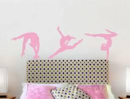 Gymnastics Wall Stickers Gymnast Wall Decals Girls Bedroom Wall Stickers Ebay