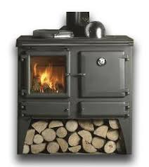 cleaning a wood burning stove glass