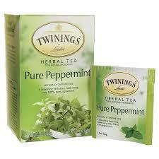 twinings herbal tea pure peppermint 20